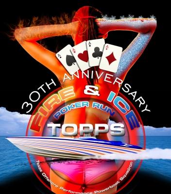 TOPPS: Fire & Ice Poker Run