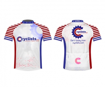 Cyclists Shirt White