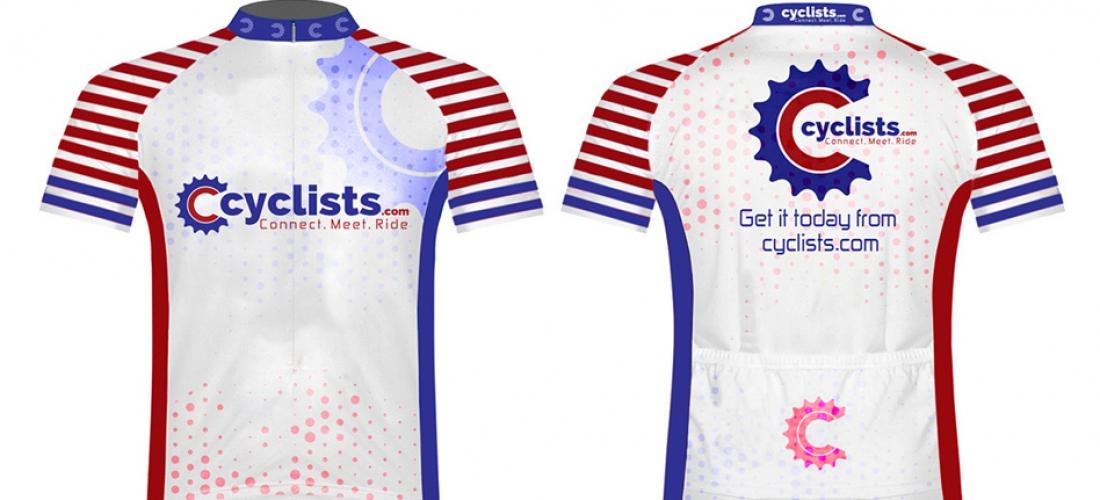 Cyclists Shirt White