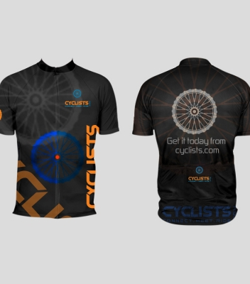 Cyclists Shirt Black