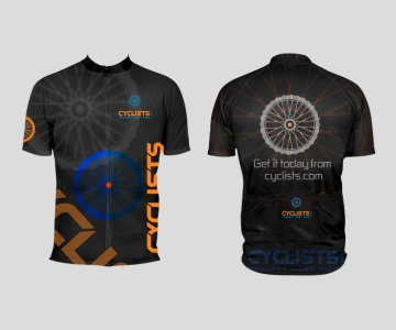 Cyclists Shirt Black