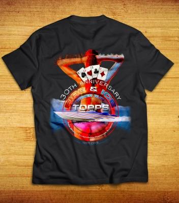 TOPPS: Fire & Ice Poker Run T-Shirts