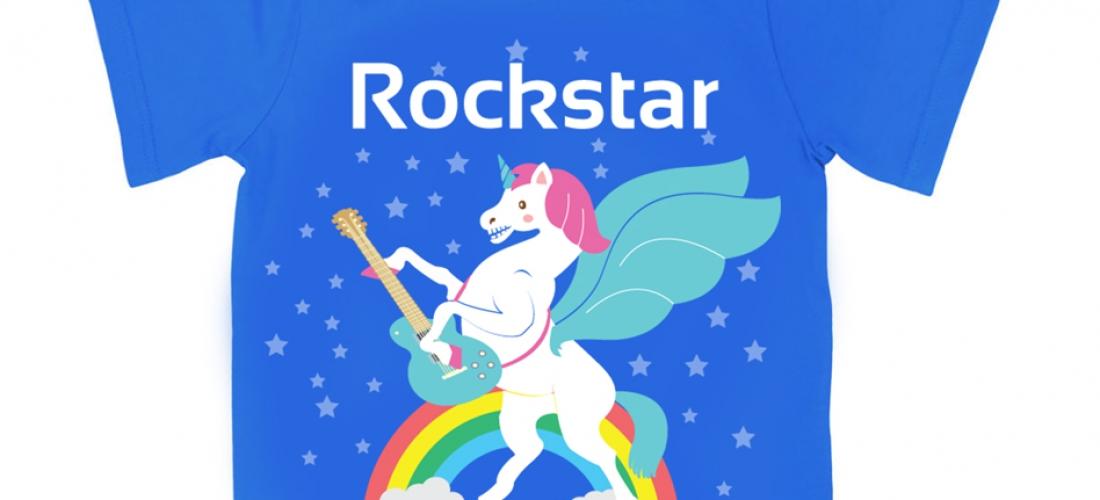 Rockstar – Rainbow Unicorns