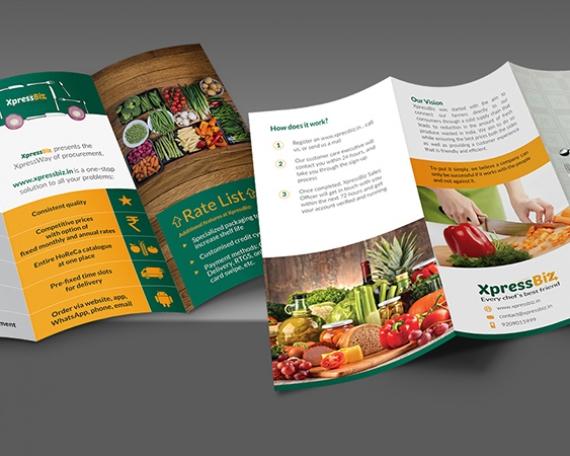 Tri-Fold Brochure / XpressBiz